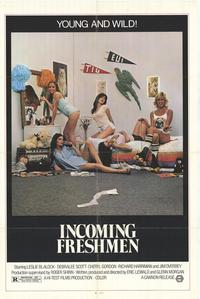 Incoming Freshman - 27 x 40 Movie Poster - Style A