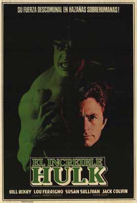 The Incredible Hulk - 27 x 40 Movie Poster - Style B