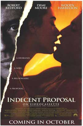 Indecent Proposal - 11 x 17 Movie Poster - Style D