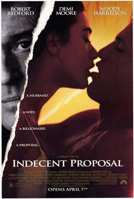 Indecent Proposal - 27 x 40 Movie Poster - Style A