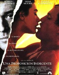 Indecent Proposal - 27 x 40 Movie Poster - Spanish Style A