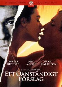 Indecent Proposal - 27 x 40 Movie Poster - Swedish Style A
