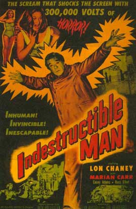 The Indestructible Man - 27 x 40 Movie Poster - Style A