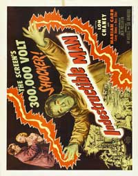 The Indestructible Man - 22 x 28 Movie Poster - Half Sheet Style A