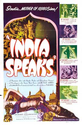 India Speaks - 27 x 40 Movie Poster - Style A