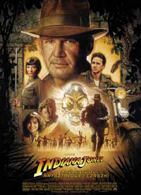 Indiana Jones and the Kingdom of the Crystal Skull - 11 x 17 Movie Poster - Polish Style A