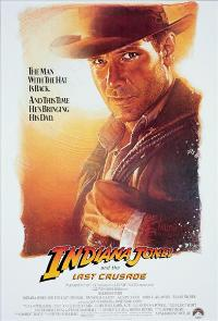 Indiana Jones and the Last Crusade - 27 x 40 Movie Poster - Style B