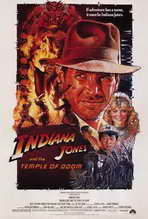 Indiana Jones and the Temple of Doom - 27 x 40 Movie Poster - Style A