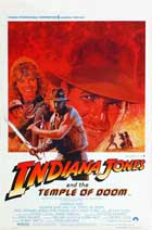 Indiana Jones and the Temple of Doom - 27 x 40 Movie Poster - Belgian Style A