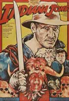 Indiana Jones and the Temple of Doom - 27 x 40 Movie Poster - Polish Style A