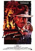 Indiana Jones and the Temple of Doom - Movie Poster - Reproduction - 27 x 40 - Style A