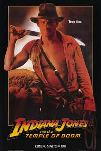 Indiana Jones and the Temple of Doom - 11 x 17 Movie Poster - Style C