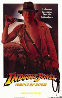 Indiana Jones and the Temple of Doom - 11 x 17 Movie Poster - Style D