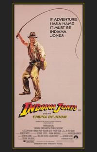 Indiana Jones and the Temple of Doom - 11 x 17 Movie Poster - Style E