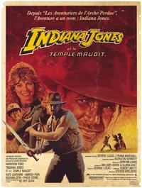 Indiana Jones and the Temple of Doom - 47 x 62 Movie Poster - French Style A