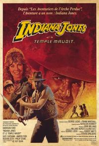 Indiana Jones and the Temple of Doom - 30 x 40 Movie Poster - French Style A