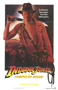 Indiana Jones and the Temple of Doom - 27 x 40 Movie Poster - Style D