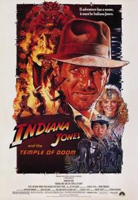 Indiana Jones and the Temple of Doom - 43 x 62 Movie Poster - Bus Shelter Style A