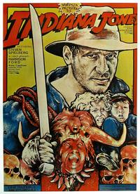 Indiana Jones and the Temple of Doom - 11 x 17 Movie Poster - Polish Style A