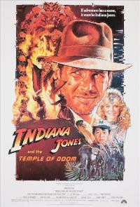 Indiana Jones and the Temple of Doom - 43 x 62 Movie Poster - Bus Shelter Style B