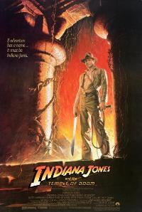 Indiana Jones and the Temple of Doom - 43 x 62 Movie Poster - Bus Shelter Style C