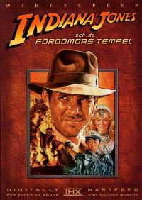 Indiana Jones and the Temple of Doom - 27 x 40 Movie Poster - Swedish Style A