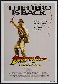 Indiana Jones and the Temple of Doom - 27 x 40 Movie Poster - Australian Style A