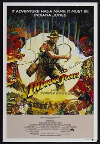 Indiana Jones and the Temple of Doom - 27 x 40 Movie Poster - Australian Style B