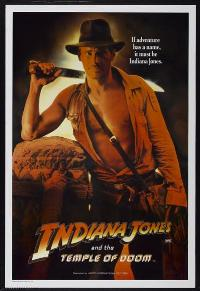 Indiana Jones and the Temple of Doom - 27 x 40 Movie Poster - Australian Style C