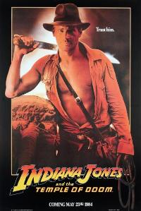 Indiana Jones and the Temple of Doom - 43 x 62 Movie Poster - Bus Shelter Style D
