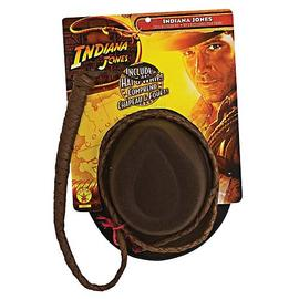 Indiana Jones and the Temple of Doom - Adult Hat and Whip Set