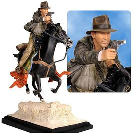 Indiana Jones and the Temple of Doom - on Horseback Statue