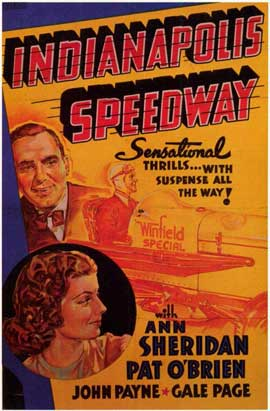 Indianapolis Speedway - 11 x 17 Movie Poster - Style A