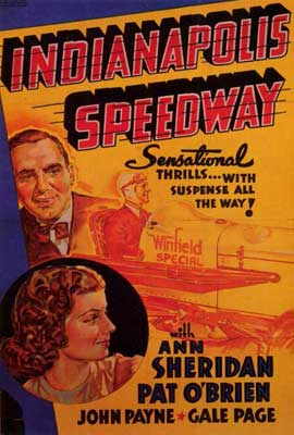 Indianapolis Speedway - 27 x 40 Movie Poster - Style A