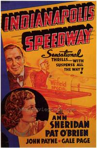 Indianapolis Speedway - 43 x 62 Movie Poster - Bus Shelter Style A