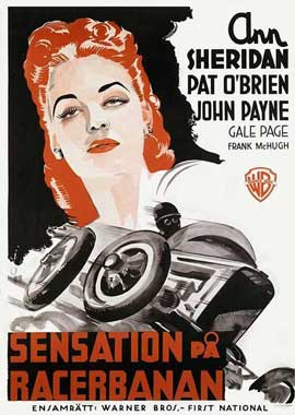 Indianapolis Speedway - 11 x 17 Movie Poster - Swedish Style A