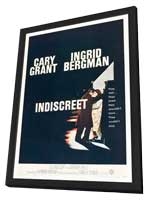 Indiscreet - 11 x 17 Movie Poster - Style B - in Deluxe Wood Frame