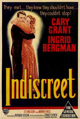Indiscreet - 27 x 40 Movie Poster - Style A