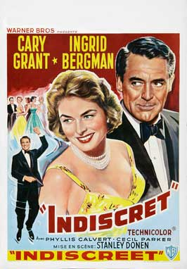 Indiscreet - 11 x 17 Movie Poster - Belgian Style A