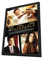 Inescapable - 11 x 17 Movie Poster - Style A - in Deluxe Wood Frame