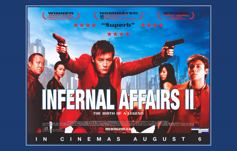 Movie Posters 2003: Infernal Affairs 2 Movie Posters From Movie Poster Shop