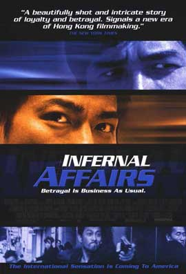 Infernal Affairs - 11 x 17 Movie Poster - Style A