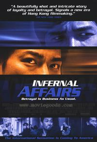 Infernal Affairs - 43 x 62 Movie Poster - Bus Shelter Style A