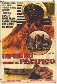 Infierno sobre el pacifico - 11 x 17 Movie Poster - Spanish Style A