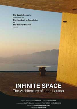 Infinite Space: The Architecture of John Lautner - 11 x 17 Movie Poster - Style A