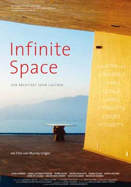 Infinite Space: The Architecture of John Lautner - 11 x 17 Movie Poster - German Style A