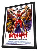 Infra-Man - 27 x 40 Movie Poster - Style A - in Deluxe Wood Frame