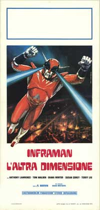 Infra-Man - 13 x 28 Movie Poster - Italian Style A
