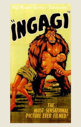 Ingagi - 11 x 17 Movie Poster - Style A