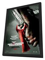 Inglourious Basterds - 27 x 40 Movie Poster - Style C - in Deluxe Wood Frame